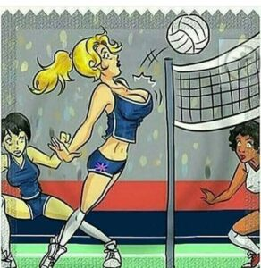 Про волейбол, свет и счётчики!